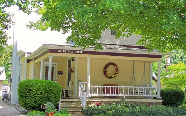 Baldridge House & Emporium - Bridgeton, Indiana